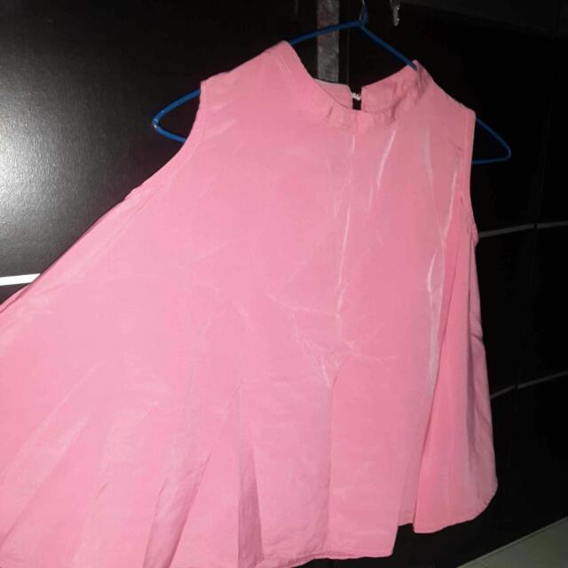 Batwing Top Pink