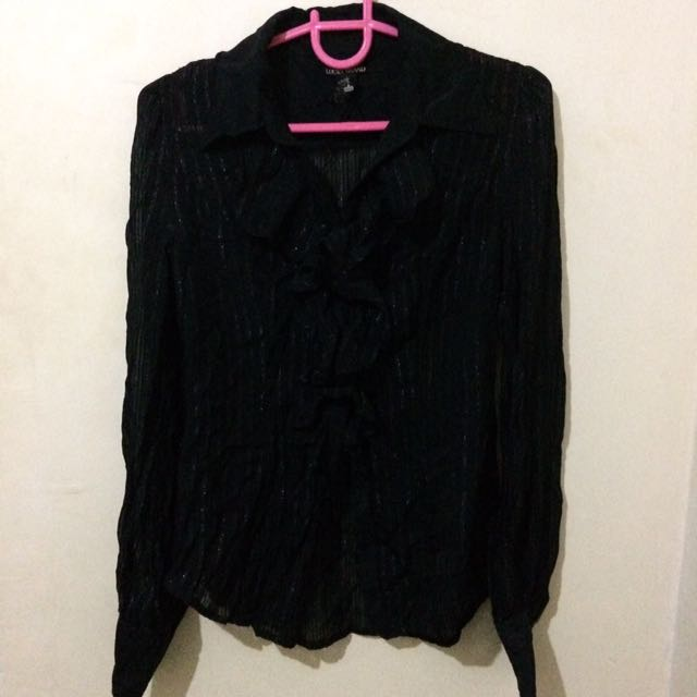 Black Corporate Blouse