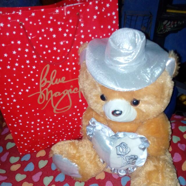 Blue Magic Fashionable Bear