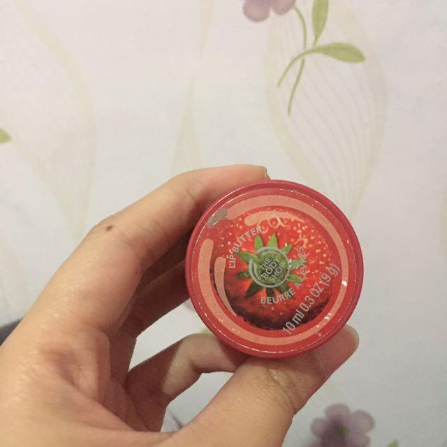 Bodyshop Strawberry Lip Butter