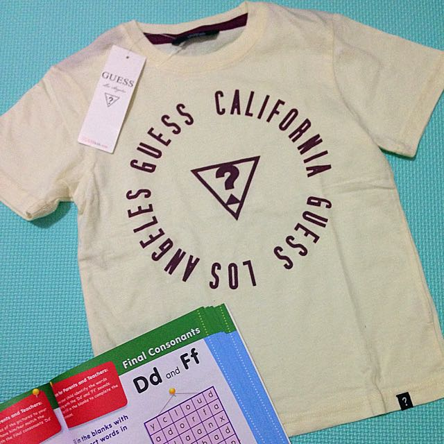 Brand New Guess Baby T-shirt For Boys
