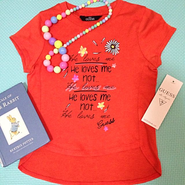 Brand New Guess Baby T-Shirt for Girls
