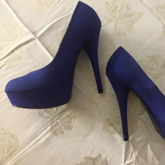 Brash Pumps Blue Size 5