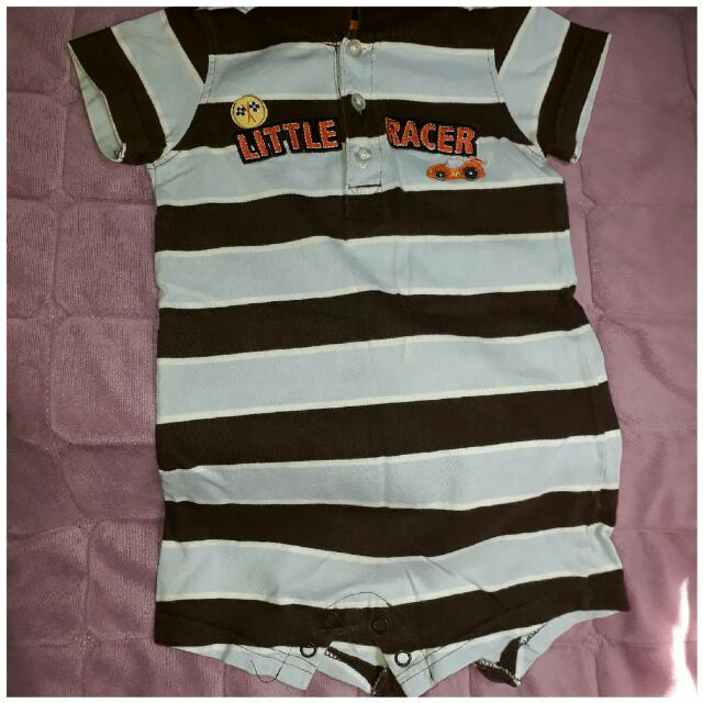 carters romper for baby boy authentic