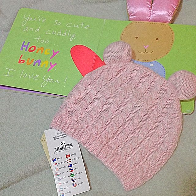 Brand New Cotton On Baby Knitted Beanie for Girls