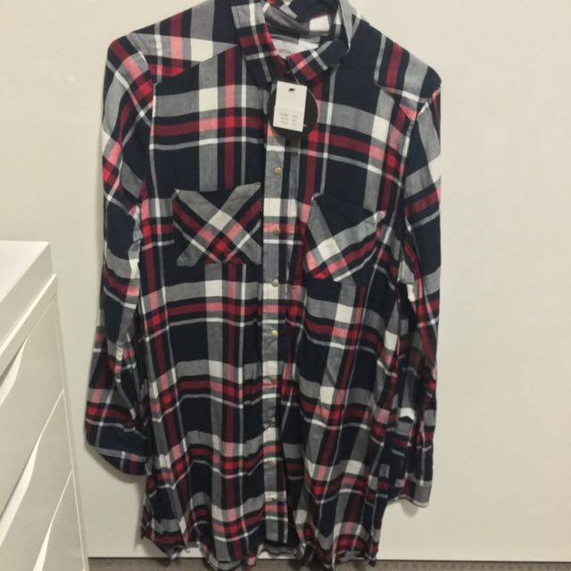 COTTON ON FLANNEL  DRESS