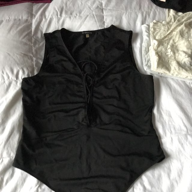Criss Cross Bodysuit