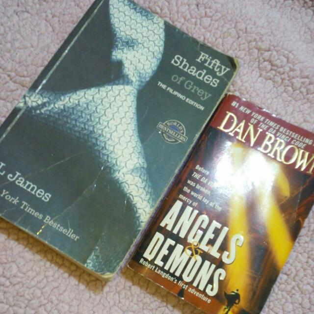 Dan Brown Angels And Demons Fifty Shades Of Grey Fil Ed.