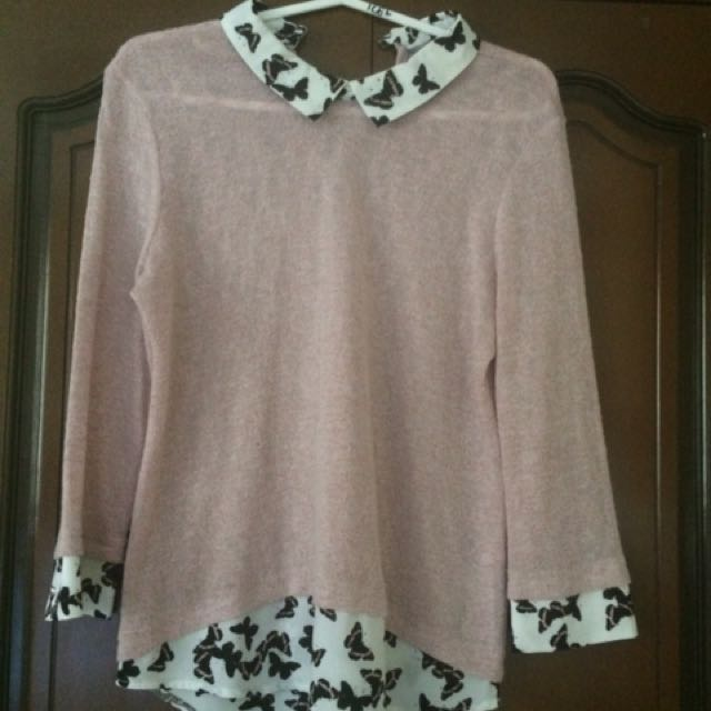 Dorothy Perkins 3/4 sleeved blouse