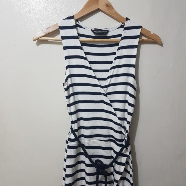 Dorothy Perkins Stripe Sleeveless Dress