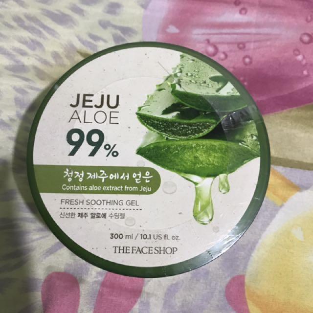 Face Shop Aloe Jeju Moisturizer