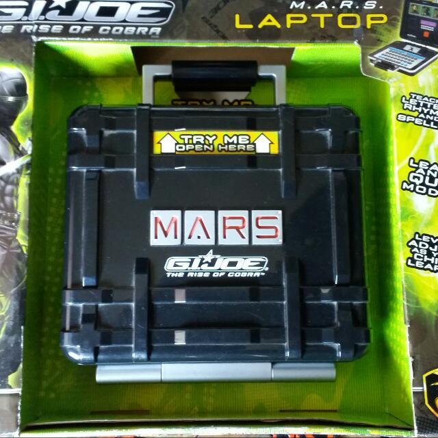 G. I. JOE The Rise Of Cobra M.A.R.S. Laptop