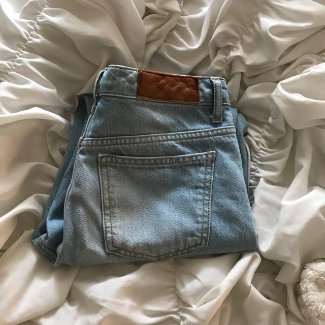Girlfriend Jeans (topshop)