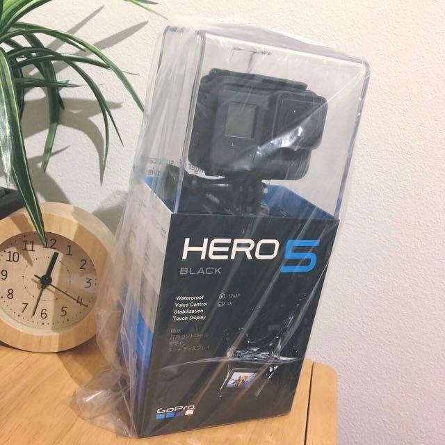 GoPro-HERO5 Black全新