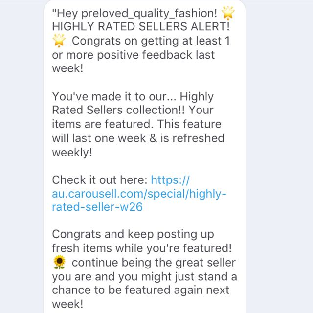 Got Promoted As Highly Rated Seller!!! Check Out My Page
