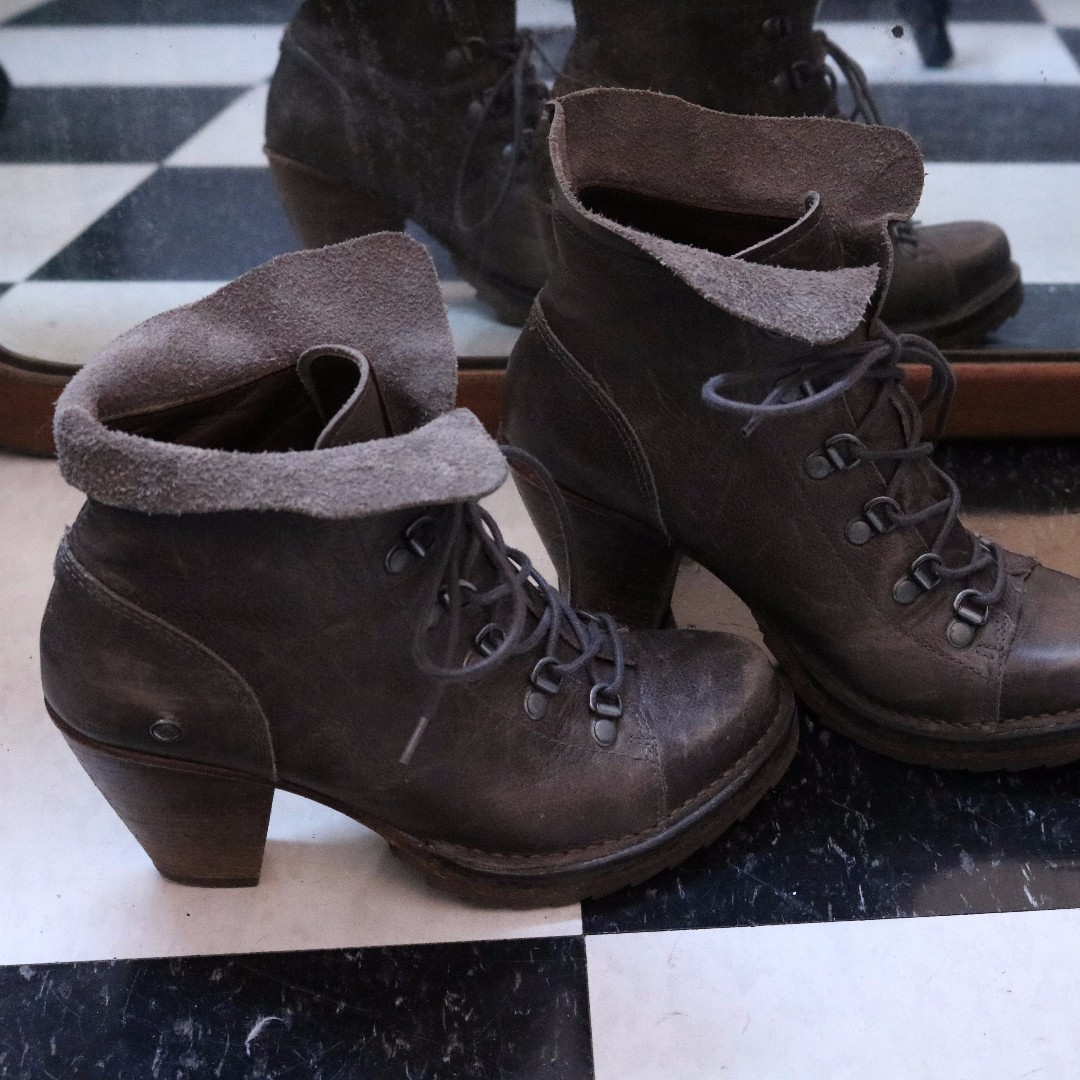 Grey Neosens Fall Boots