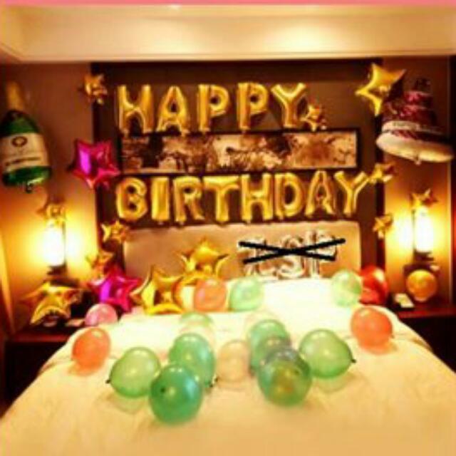 Happy Birthday 氣球套裝