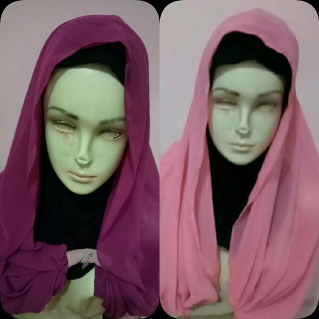 Hijab Satu 20rb Yaa No Ninja Nya.. Bagus Buat  Yg Hobi Hijab Gaya
