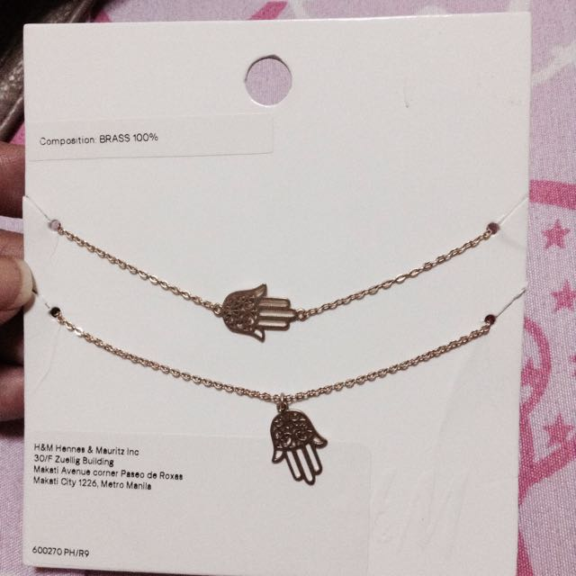 H&M Necklace & Bracelet Set.