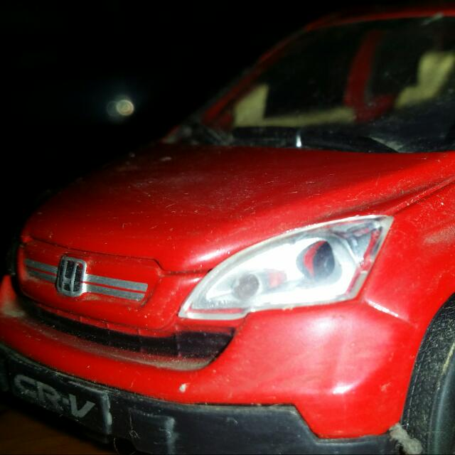 Honda CRV miniatur Red