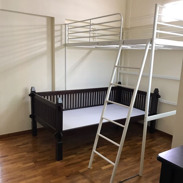 Ikea Loft Bed Frame Queen Size
