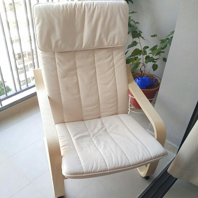 Ikea Pello Arm Chair(Self Collect), Furniture, Tables U0026 Chairs On Carousell