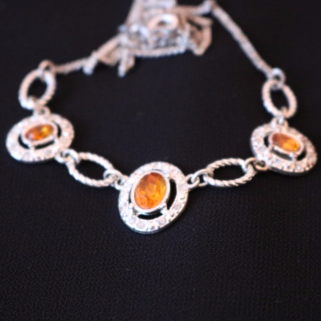 Imitation Amber Necklace