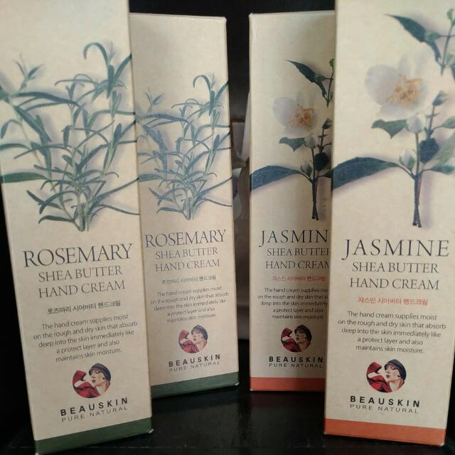 Skincare: Korean Hand Lotion In Jasmine And Rosemary