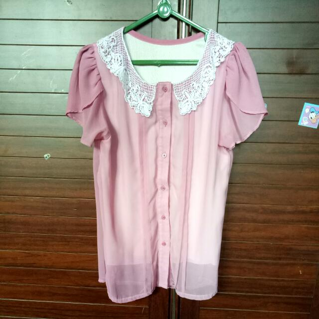 Korean Pink Shirt