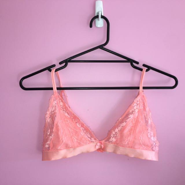Lace Pink Bralette