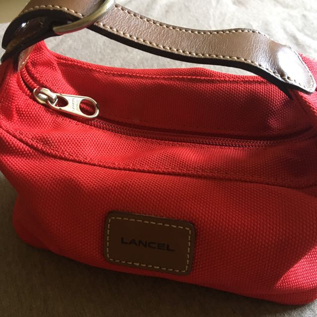 Lancel Pouch/Make up go to bag