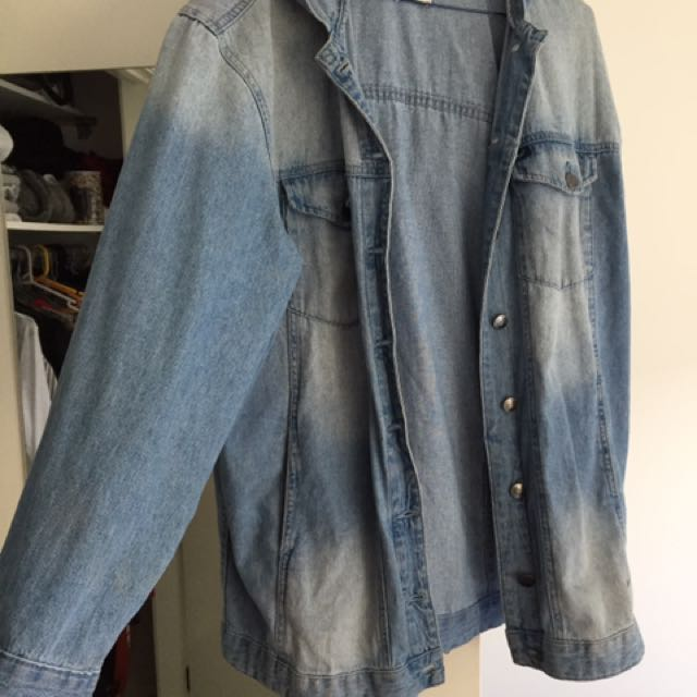 Lee Oversized Denim Jacket