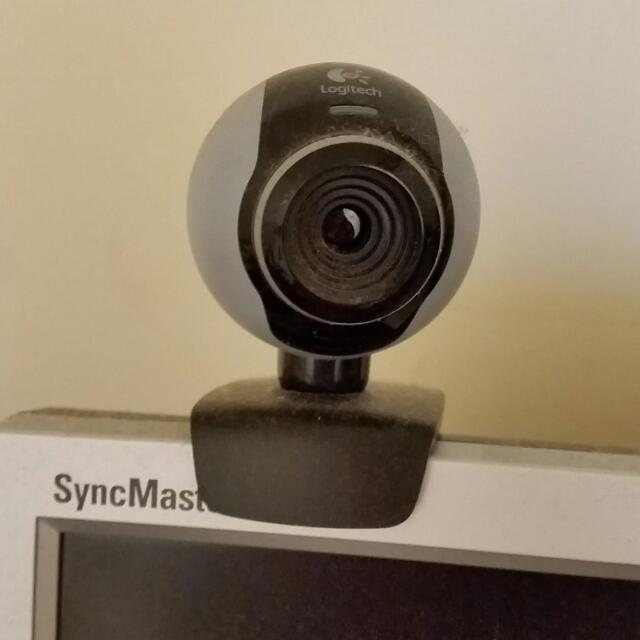 Logitech USB webcam video camera