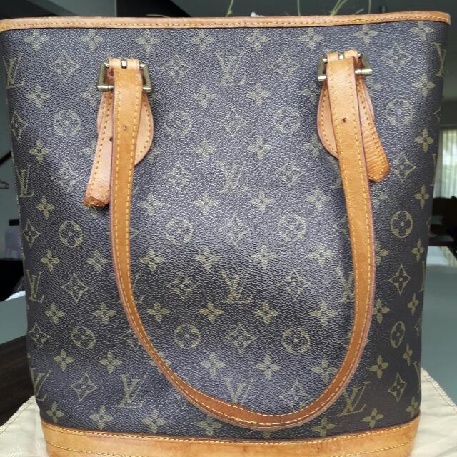 Louis Vuitton Ori Leather Tote Bag