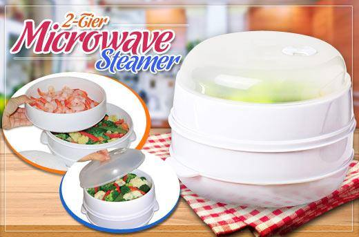 Microwave Steamer
