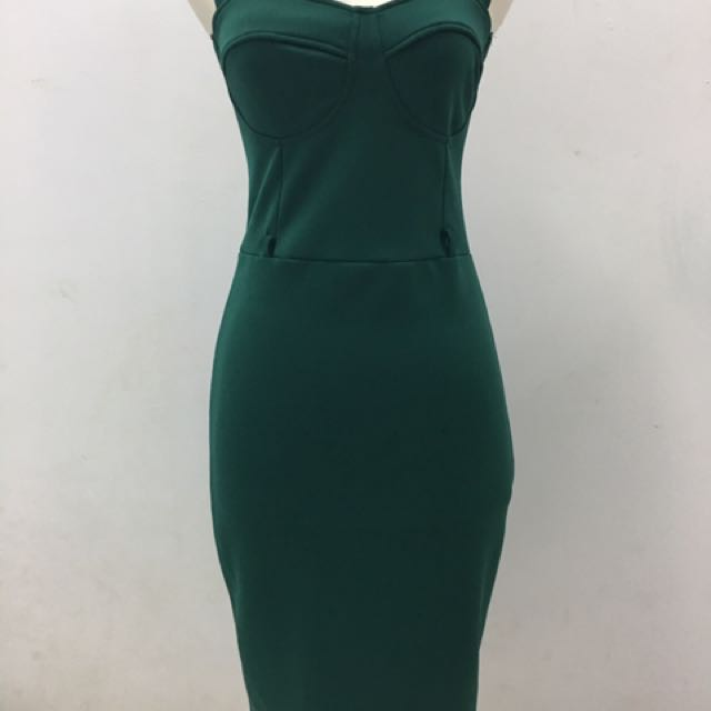 Midi Emerald Dress