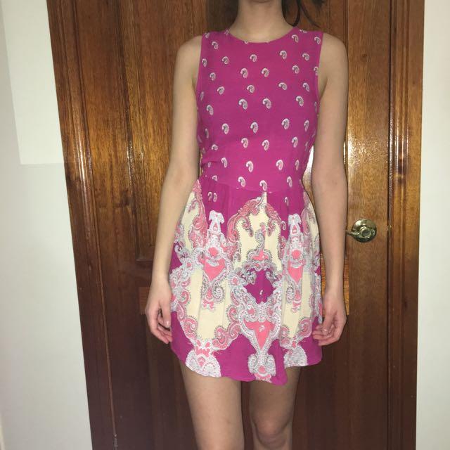 Mink Pink Patterned Dress