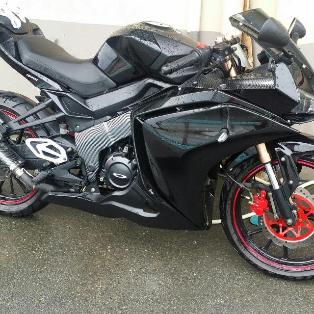 Motorstar Z200s Motorbikes On Carousell
