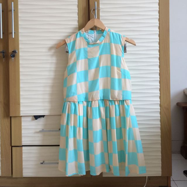 Neon Square Dress