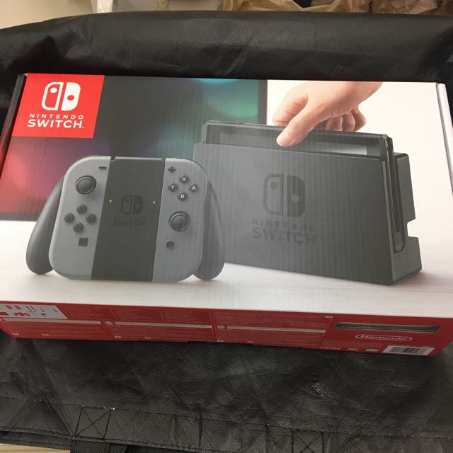 Nintendo Switch - Grey Joy-Con