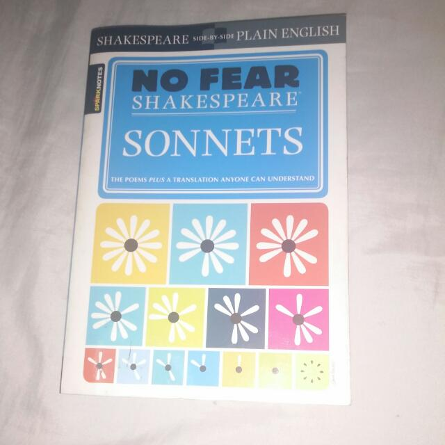 No Fear Shakespeare: Sonnets