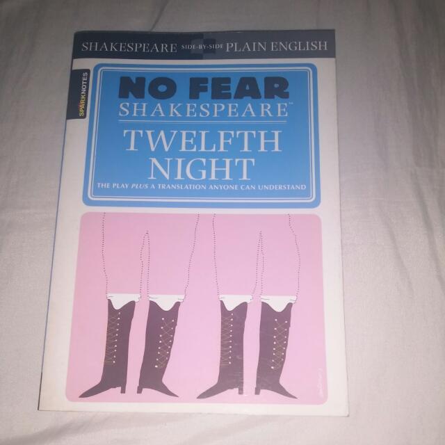 No Fear Shakespeare: Twelfth Night