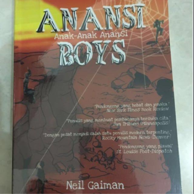 Novel Anansi Boys