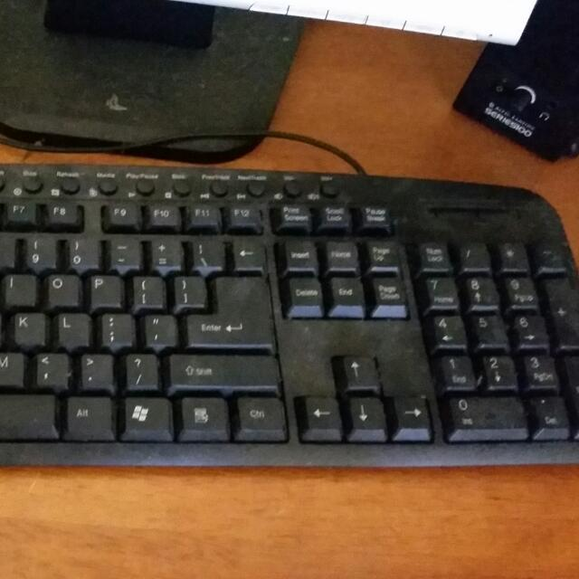 OfficeOne multimedia computer keyboard