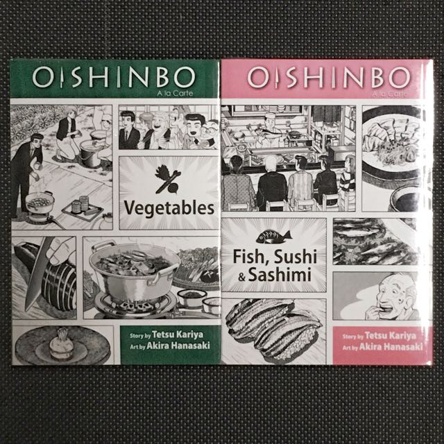 Oishinbo Manga 2 Volumes