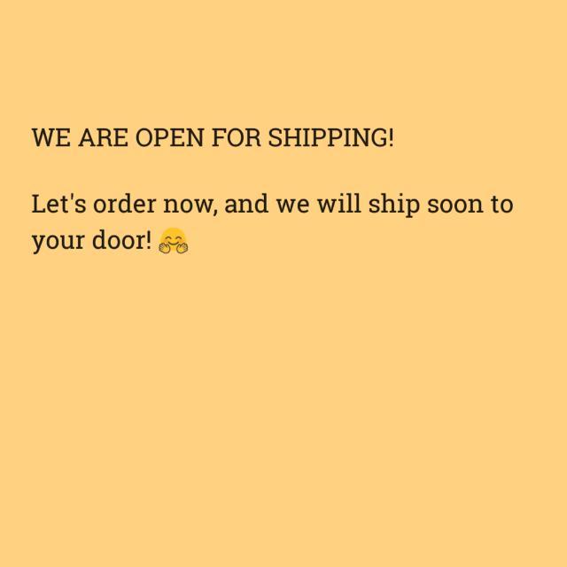 Open Now!