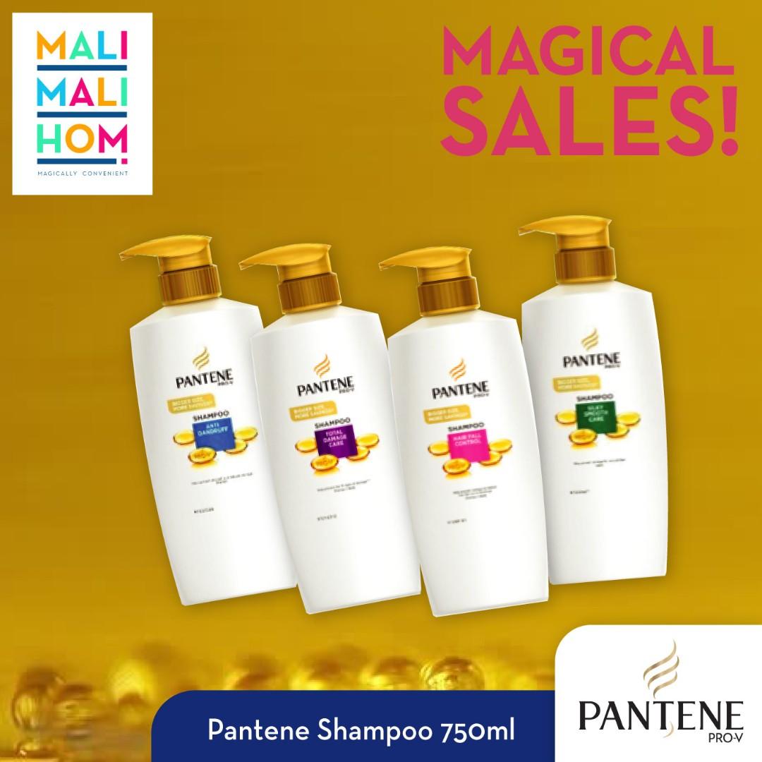 Pantene Shampoo 750ml Health Beauty Hair Care On Carousell Sampo Hairfall Control