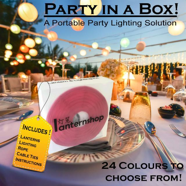 Party In A Box Lantern N Lighting Kit