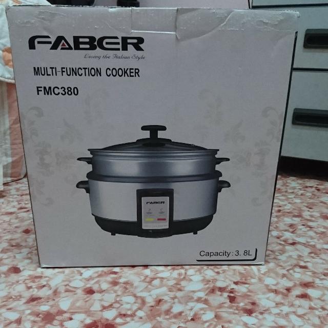 Periuk Memasak Serbaguna Elektrik Faber Fmc380 Peralatan Dapur Di Carou