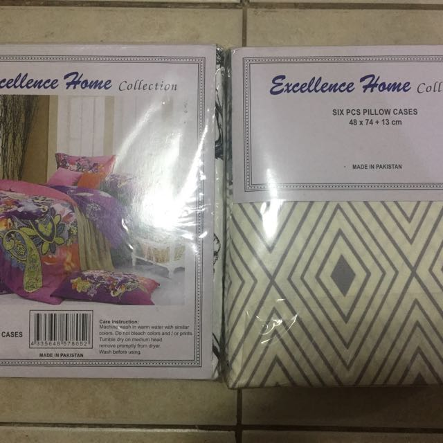 Pillow Case (3 pairs)